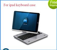 360 keyboard case - Top grade Degree Rotatable Bluetooth wireless keyboard case for Apple iPad air case with keyboard Tablet keyboard Rotating case