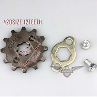 Wholesale Brand New Motorcycle ATV Dirtbike Front Sprocket T mm Size Teeth