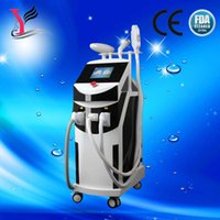 Wholesale 4 in Elight rf ipl laser machine facial beauty machine IPL SHR elight laser hair removal machine for sale