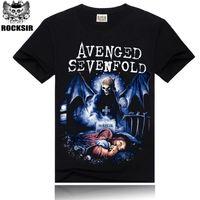 avenged sevenfold t shirts - Avenged Sevenfold DPrinting Men s T shirts Plus Size S XXXL Summer O Neck Men s Short Sleeve Male Tees