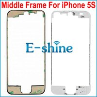 Wholesale 5S LCD Touch Screen Middle Bezel Frame Holder Mid Chassis Bracket For iPhone5S S