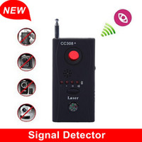 Wholesale Hot Sale and Top Quality Full Range Anti Eavesdropping Device CC308 Anti Spy Camera Wireless RF GPS Detector