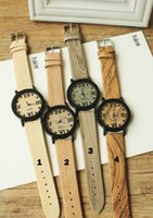 best quality watches for women - Best Hot Selling Wooden Watches High Quality Wristwatches Quartz Movement Leather Watches For Men Woman