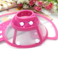 Wholesale Elizabeth head collars Pink cases against the bite Prevent licking his mouth sets