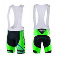 2015 pantalones cortos de ciclo del equipo Orbea ropa corta de los hombres de ciclo del babero ropa de ciclo de Lycra del gel del cojín de secado rápido de la bici MTB