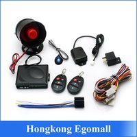 car security system - New Way Car Vehicle Burglar Alarm Security Protection System Remote Control with siren