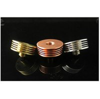 Wholesale Electronic Cigarette RDA Heat Insulator Sink Adapter For all eGo Vape RDA Atomizer DHL Free