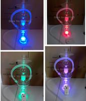 lava tube - Russian ART Glass Hookah Smoking Pipe Lava Tube with LED light Glass Shisha DHL shipping Around kg for
