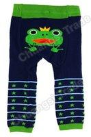 Wholesale Cute Animal Cotton Baby PP Pants Skinny Mid Waist Elastic Kid s Toddlers Leggings Separate Packaging Best Selling