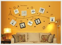 balloon paper airplane - Medium Vinilos Love Paris Paper Airplane Balloon Wall Stickers Home Decor Wall Art Decals For Kids Rooms Pegatinas