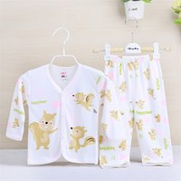 bamboo cotton baby clothes - Children Kids Clothes Newborn Baby Clothing Sets bamboo fiber Pajamas One piece Rompers for M Infants Baby Boys Girls Kids Bodysuit