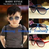Cheap 2014 UV Protection Fashoin Children's Sports Sunglasses Boy and Girls Cool Cover Baby Sunglasses Wholesale Price