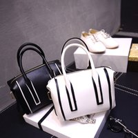 Wholesale Women s handbag Spring New Korean stitching mini handbag Messenger Bag shoulder bag Boston bag