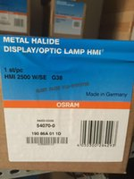 arri hmi lights - OSRAM HMI W SE Metal Halide lamp W G38 XS DISPLAY OPTIC light bulb NAED CODE ARRI OMNISISTEM STRAND Lighting