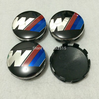 Wholesale Car styling PVC mm M wheel center hub caps cover with pins for BMVV car decoration