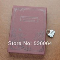 Wholesale Quality Secret Diary Journal Notebook Sketchbook Memo with Combination Lock Code