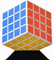 Wholesale New White ShengShou x4 Magic Cube x4x4 Speed Cube Rubiks Puzzle Twist