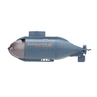 Wholesale 777 Mini RC Racing Submarine remote control Toys with MHz Transmitter Blue Color