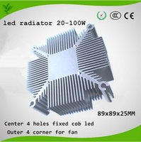 aluminium sink - w w Pure aluminium heat sink for multichip led cooling DIY Led Grow Light