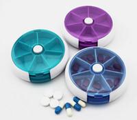Wholesale Top quality Portable Travel Slot Storage Pill Vitamin Medicine Box Case Holder Dispenser