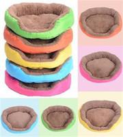 Wholesale 2015 new Warm Pet Dog Puppy Cat Soft Fleece Cozy Warm Bed House Plush Pet Nest Mat Pad CW