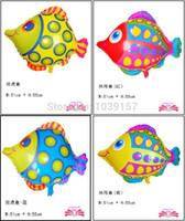 balloon animals fish - Tropical fish foil balloons animal spot fish shape balloon aluminium foil balloon