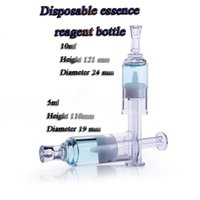 acid reagent - 50pcs capacity ml Essence disposable reagent bottles syringes liquid reagent bottle bottle grade essence