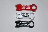 Wholesale Tiempo ultraligero paquete vástago de la bicicleta de nueva camino de la fibra de moto ciclismo de montaña risers mm
