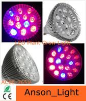 Wholesale Par38 led bulbs W W W E27 B22 LED Plant grow Light Hydroponic Grow Light led Bulb Flower Garden Greenhouse