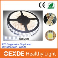 light tape - Waterproof IP65 LED M SMD Single Color flexible v led strip light Cool White Warm White leds M Tape oexde