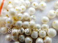 Wholesale W mm mm hole AAA Quality Loose Potato Freshwater Pearl Beads Fit Bracelet And Necklace