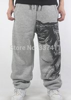 animal bull - Black Gray Lovers SweatPants Sport Pants Hip Hop Designer Fashion letter Print Men Bulls street dance Trouser HipHop joggers