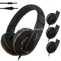 adapter headband - New Fashion OV X3MV Mobile Phone Headphone Headband Wired Earphone with Mircophone Adapter Headset Factory cheap high quality