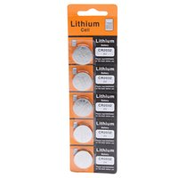 hearing aid batteries - 5PCS CR2032 V Cell Battery Button Battery Coin Battery lithium battery For Watches clocks hearing aids calculators