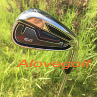 authentic club - 2015 new golf irons RSi irons Pw Sw Aw with authentic project X5 steel shaft top quality golf clubs