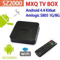 Wholesale MXQ TV Box S805 Quad Core Google Android KODI GB ROM Support H Smart Media Player android tv box