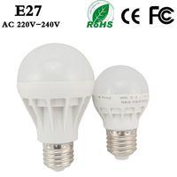 Wholesale Hot New High Quality LED Bulbs W W W W W E27 Energy Saving Light E27 Base Globe Light Bulb SMD Lightings Lamp