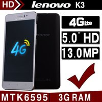 mobile phone new model - 2016 new Original Lenovo K3 c Smartphone quot IPS Android MTK6595 Octa Core Mobile Phone G RAM G FDD LTE GPS Cell Phones
