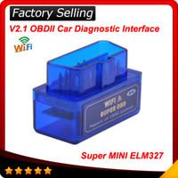 arrival scan - 2016 New arrival Blue super mini elm327 wif OBD2 Car Auto Diagnostic Scan Tool Mini ELM Wif