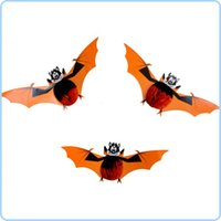 Halloween halloween decorations - Halloween Bars Decorations Props Funny Little Bat Pendant Ornaments Small Bat Party Supplies
