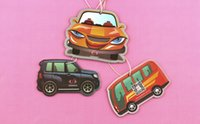 Wholesale new arrival customized car air freshener home paper air freshener promotion gift with custom logo picture