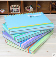 journal and notebook - 1Pcs Korean And Japanese Style Thicken Notebook K A4 Hard Copybook Journal Book Paper Notepad Diary Book with Lined Paper