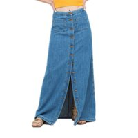 Denim Maxi Skirt Uk | Jill Dress