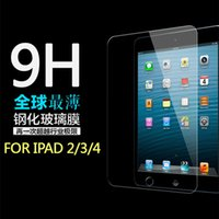 Wholesale For ipad air mini Tempered Glass Screen Protector Explosion proof Anti Shatter Tablet PC Guard mm H