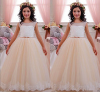 aa pictures - NEW Wedding Party Formal Flower Girls Dress baby Pageant dresses AA A