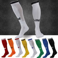 Wholesale Specials soccer socks barreled towel bottom knee socks sports stockings color options
