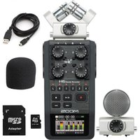 Wholesale Zoom H6 Handy Track Digital Recorder Portable Handheld X Y and Side Mic GB SD