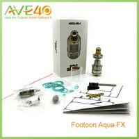 aqua tank tops - Footoon AQUA FX Sub Ohm Tank ml ml Capacity Top Filling Ultem Material Drip Tip VS Mirco One