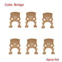 Wholesale High Quality Cello Bridge Maple Exquisite Workmanship Cello Accessories for Size Cello Retail