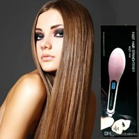 Wholesale Beautiful Hair Straightener New Style Straight Hair Styling Tool Star With LCD Electronic Temperature Controls